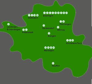 Weiterbildungsstandorte - Netzwerk für berufliche Fortbildung Landkreis Esslingen e.V.